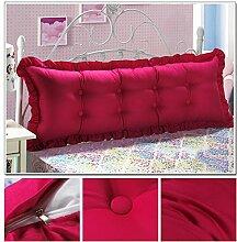 CX-PILLOW Günstige Baumwolle Bett großes Kissen Bett Rückenlehne Kissen Paar Doppel Kissen gepolstert Mode schöne Kissen ( Farbe : #8 , größe : 1.2m )