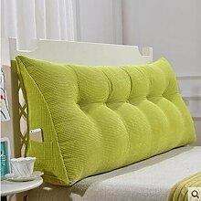 CX-PILLOW Kissen, Dreieckkissen, Bett großes Kissen, Doppelbett weichen Paket, Bett Rückenpolster, Kissen Lendenstütze Mode schöne Kissen ( farbe : B1 , größe : 135cm )