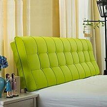CX-PILLOW Leder Nacht Soft Paketdoppelbett Nachtkissen-weiches Bett-Kissen Rückenbettdecke für 1.2m Bett oder 1.5m Bett Mode schöne Kissen ( Farbe : #8 , größe : 1.2m Bed )