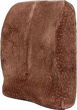 CX-PILLOW Lordosenstütze Büro Auto Lendenwirbeltaillenkissen Mode schöne Kissen ( Farbe : Rown )