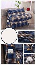 CX-PILLOW Triangle Taille Kissen Kissen gepolstertes Sofa-Bett Rückenlehne lumbalen Rückenpolster Mode schöne Kissen ( Farbe : #5 , größe : M )