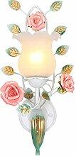 CXM-Wall lamp Pastorale Nachttischlampe Wohnzimmer