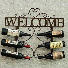 Cxmm Wandhalterung Weinregal 6 Flaschen Metall