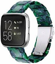 CXQWAN Kompatibles Armband Fitbit Versa, Smart