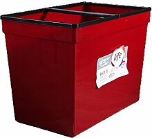 CXZS Kunststoff Haushaltsbadezimmer Mülleimer