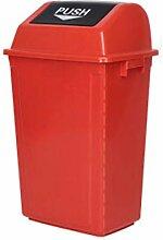 CXZS Trash can Flip Mülleimer Haushalt große