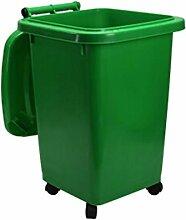 CXZS Trash can Mülleimer 50 Liter Outdoor Große