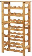 CXZS-wine rack 7-Schicht-Weinregal aus Holz,