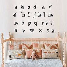 Cyalla Abc Alphabet Wandaufkleber Kinder Vinyl
