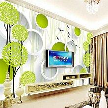 Cyalla Baum Kreis Fototapete Für Wände