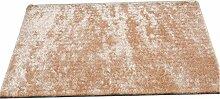 CYALZ Polyester Hellbraun Einfarbig Modern Einfach Stil Haus Textilien Türen Wohnzimmer Badezimmer Küche Balkon Treppen Schlafzimmer Nachttisch 1.5cm Dicke Anti rutschig Teppich Decke Matte Kissen 200 * 140cm