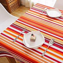 CYALZ Weiß Rot Orange Braun Streifen Blume Muster