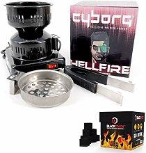 Cyborg Hookah Elektrischer Kohleanzünder für