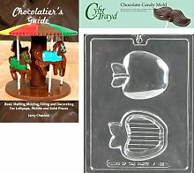 Cybrtrayd Apple Pour Box Chocolate Candy Mold with