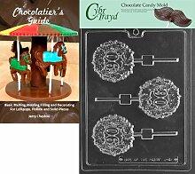 Cybrtrayd Schokoladenform für Lolly Buchstaben