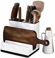 CYFDM Küchengerät Utensilienhalter Messerblock,