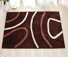 CYJZ® Teppich, Braun Die Tür Resistent gegen
