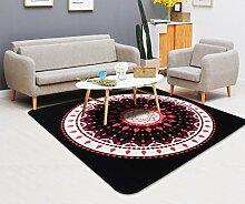 CYJZ® Teppich, Computerstuhl Teppich Schlafzimmer