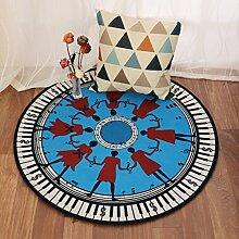 CYJZ® Teppich, einfaches Wohnzimmer Korb Teppich