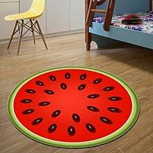 CYJZ® Teppich, Obst Thema Runde Teppich Teppich