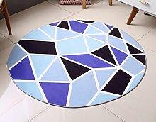 CYJZ® Teppich, runde Wohnzimmer modern Einfache