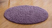 CYJZ® Teppich, runder Teppich einfaches