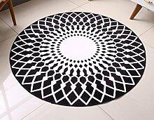 CYJZ® Teppich, runder Teppich Wohnzimmer modern