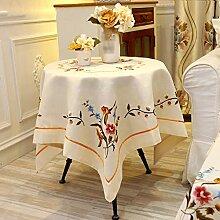 Cylficl Europa-Stil Tischdecke Stuhlhusse