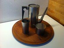Cylinda Line Mokka Kaffeeservice von Arne Jacobsen
