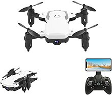 CYLZRCl Kleine Drohne Vierachsiges Faltflugzeug