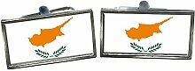 Cyprus Flagge Männer-Geschenk Manschettenknöpfe