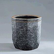 CYQ Achteckige facettenreiche Keramiktöpfe Extra