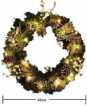 CYYAW LED-Girlande, Weihnachten Führte
