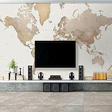 CYYYjz 3D Wandbilder Tapete Weltkarte Wandmalerei