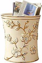 CZDZSWWW European Ceramic Trash ohne Abdeckung