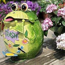 CZDZSWWW Trash Can Garden Retro-Verzierungen