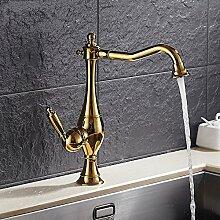 CZOOR 1 Wasserfilter Wasserhähne Wasser Mixer Küche Spüle Wasserhahn Messing Küche gereinigtes Wasser Hahn Trinkwasser Mischbatterie