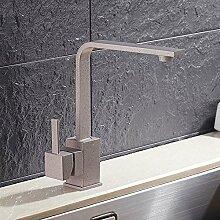 CZOOR 360 Grad schwenkbares Küche Wasserhahn Messing Küche Mischbatterie Küche Spüle Wasserhahn Küche Wasserfilter Wasserhahn