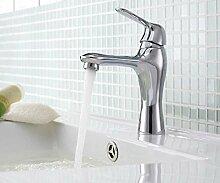 CZOOR Bad Wasserhahn Kupfer Heiße und Kalte