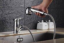 CZOOR Küchenarmatur Messing Wasserhahn für