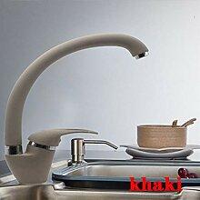 CZOOR Küchenarmatur, modernes Design, mehrfarbig,