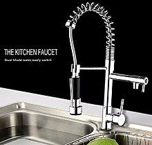 CZOOR Messing farbenen Küche Wasserhahn