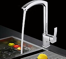 CZOOR Messing Wasser Mixer Küche Wasseranschluß Tippen Spüle Wasserhahn Single Handle Faucet Wasser Mischbatterie