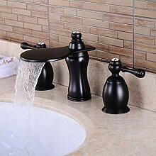 CZOOR Öl eingerieben schwarzer Wasserfall Bad