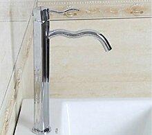 CZOOR Waschbecken Waschbecken Wasserhahn Erhöhung