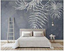 CZYSKY Wandmalereien Wallpaper 3D, Grau,