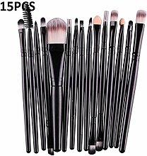 CZYU® 15 / 20Pcs Make-up-Bürsten-Satz Werkzeuge
