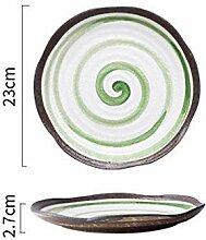 CZZJHTeller Speziell Geformte Keramikplatte