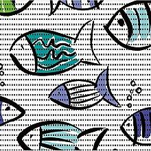d-c-fix Bodenbelag Aqua Mat Fische Breite 65cm Länge & Muster wählbar 65 x 270 cm