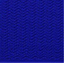 d-c-fix Klassiker Gartentischdecke Blau Oval 160x210 cm- PVC Weichschaum